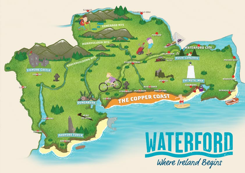 Waterford County Map