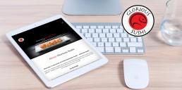 Website Design Project - Glorious Sushi Brand Design