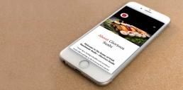 Mobile Design Project - Glorious Sushi Brand Design