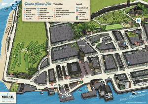 Youghal Town Map, Cork