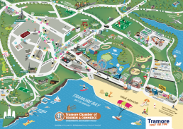 Tramore Town Map, Waterford
