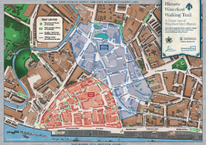 Illustrated Waterford Heritage Map by Márla Communications