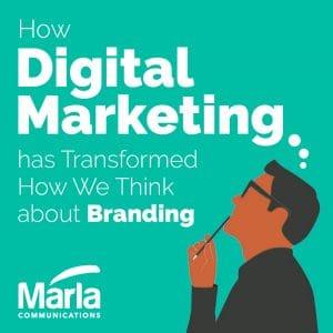 How Digital Marketing Transformed Branding