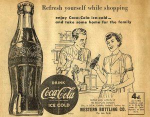 Vintage Coca Cola Newspaper Ad