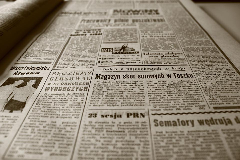Old Newspaper Marketing