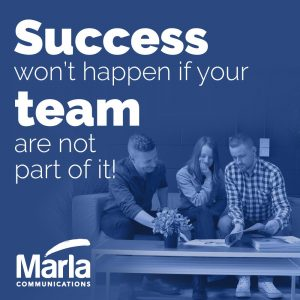 Márla Communications Banner - Successful Team