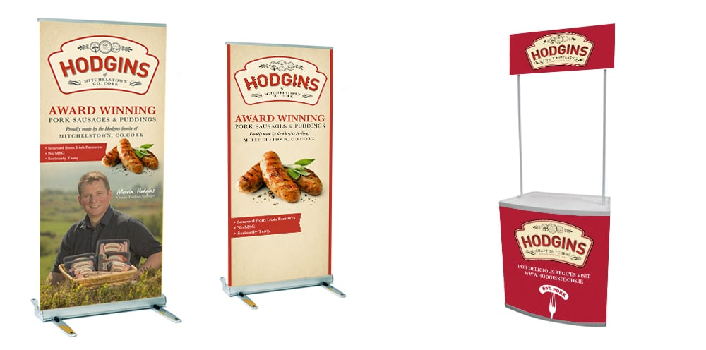 Hodgins Stands | Marla Communications