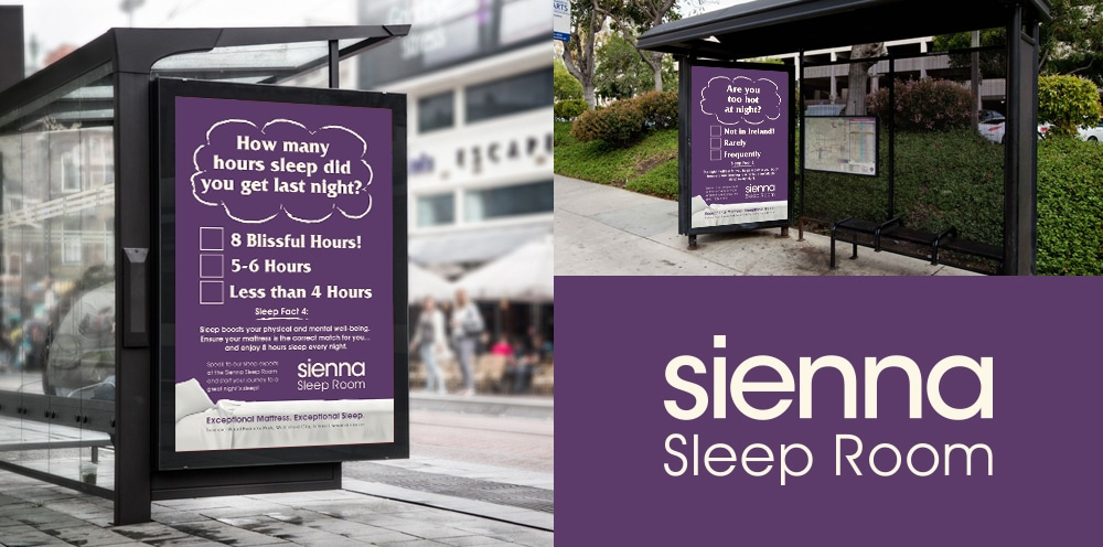 Sienna Home Furnishings Bus Shelter | Marla Communications
