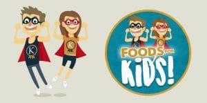 Bespoke Illustration - Foods for Kids