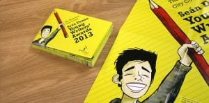 Bespoke Illustration - Sean Dunne Young Writers Awards 2013