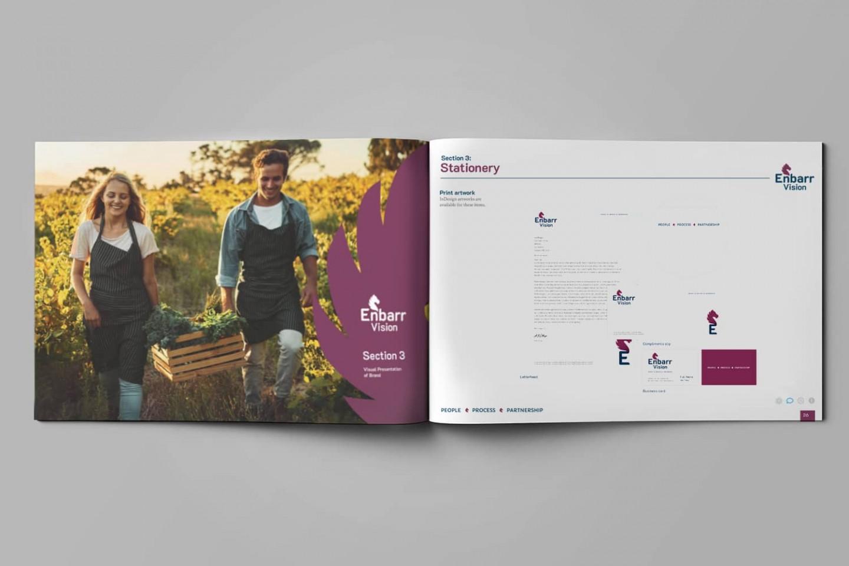 Brand Design Agency - Enbarr Vision Corporate Manual