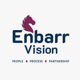 Brand Design Agency - Enbarr Vision Logo