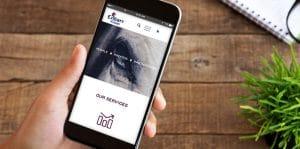 Brand Design Agency - Enbarr Vision Website