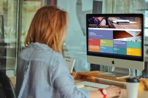 DCU Business School Website Design - Desktop Version