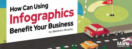 the header image for how can infographics benefit your business blog post
