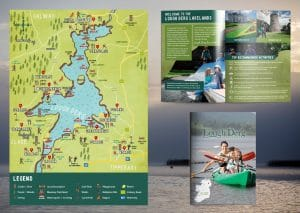 Illustrated Maps - Lough Derg Map