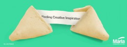 finding creative inspiration fortune cookie