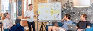 Social Media Marketing Strategy - Team Meeting