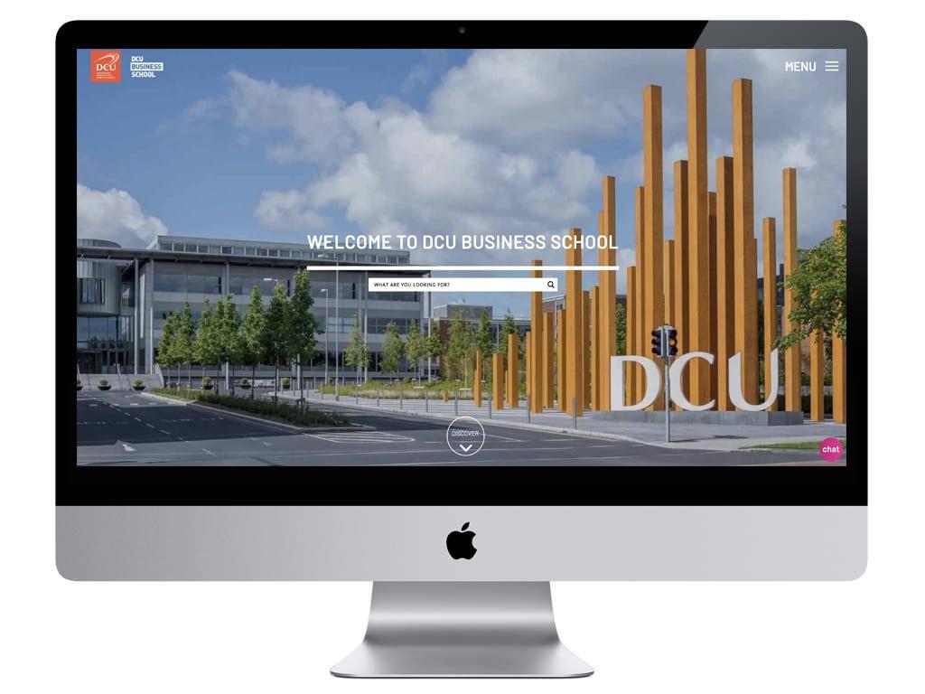 Bespoke Website Design - DCU Business School