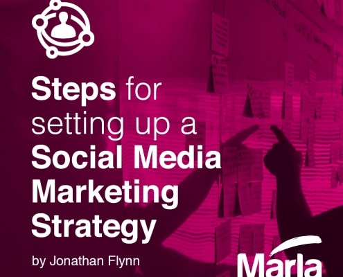 Steps for setting up social media