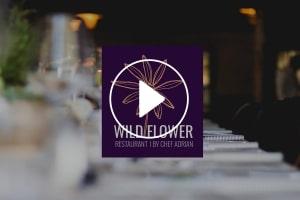 Wildflower Restaurant Brand Design