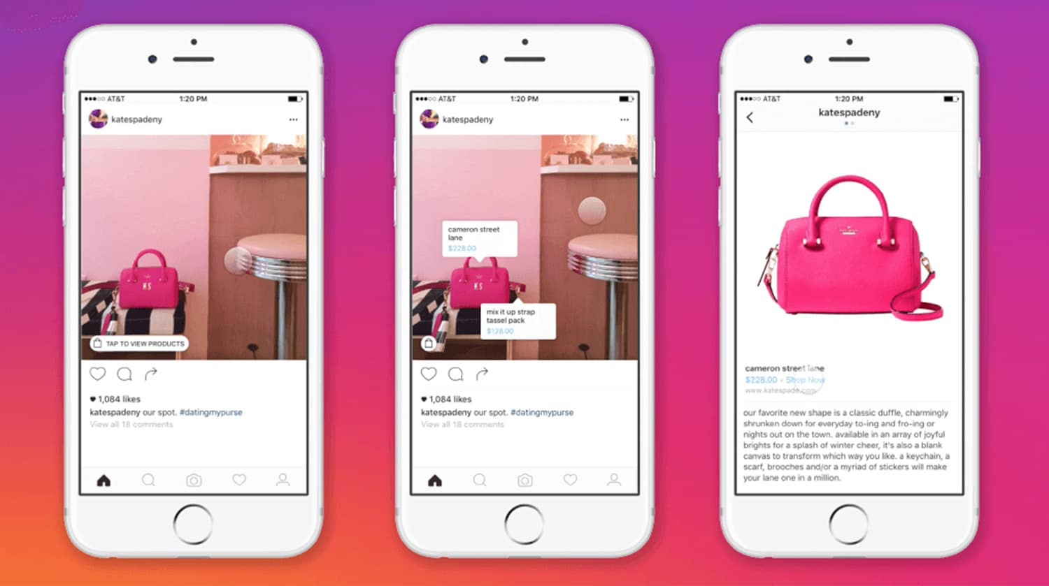 Instragram Ads | Shopping Tag Feature
