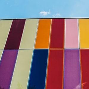 Digital Ready | Multi Coloured Building
