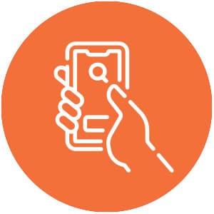 Pinterest Mobile Icon