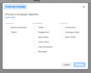 Choose Objective for Ad in Facebook Ads Manager - How to Use Facebook Ads Tips